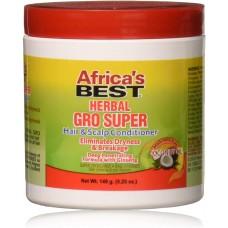 AFRICA BEST SUPER GRO HAIR AND SCALP CONDITIONER, 175ml