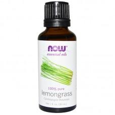 Now Foods, Essential Oils, Lemongrass, 30ml