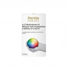 ProVen Probiotics A-Z Multivitamin & mineral with Acidophilus & Bifidus & CoQ10