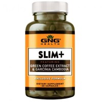 GNG HEALTH SLIM + with Green Coffee Extract and Garcinia Cambogia - 60 CAPSULES