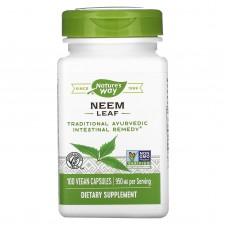 Nature's Way, Neem Leaves, 100 Capsules