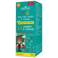 Natures Aid Kidz Multi-Vitamin & Minerals Liquid - Banana Flavour - 150ml