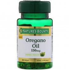 Nature's Bounty, Oregano Oil, 150 mg, 90 Softgels