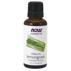Now Foods, Essential Oils, Lemongrass, (30 ml)
