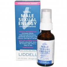 Liddell, Vital Male Sexual Energy with Testosterone, (30 ml)