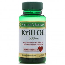 Nature's Bounty, Krill Oil, 500 mg, 30 Softgels