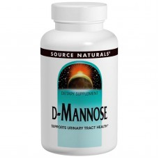 Source Naturals, D-Mannose, 500 mg, 60 Capsules