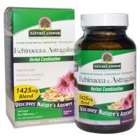 Nature's Answer, Echinacea & Astragalus, 1425 mg, 90 Veggie Caps