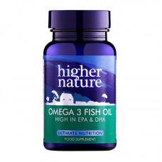 Higher Nature Omega Fish Oil, 1000mg 30 Capsules