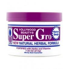 Hollywood Beauty Super Gro Natural Herbal Formula, 213g