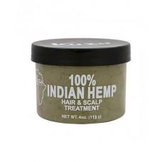 Hundred Percent, Indian Hemp. Hair And Scalp Treatment,   (226g)