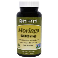 MRM, Moringa, 600 mg, 60 Vegan Capsules