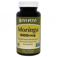 MRM Organic Moringa, 600mg, 60 Vegan Capsules