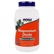 Now Foods, Magnesium Oxide Pure Powder,  227g