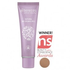BENECOS, Natural BB-Cream 8-in-1, Care for sensitive skin, Colour  Beige, (30g)