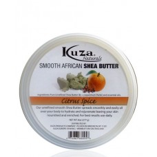 Kuza, Smooth African Shea Butter, Citrus Spice, (227g)