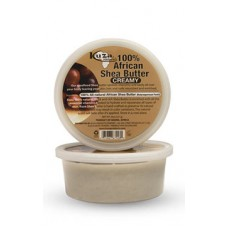KUZA, 100% African unrefined Shea Butter, White Creamy, (227g)